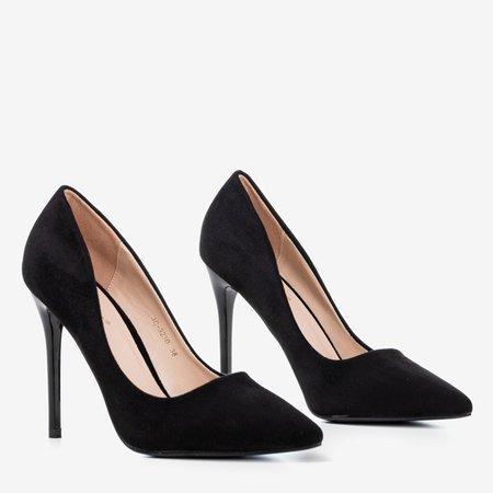 Чорні жіночі високі підбори - Взуття 1