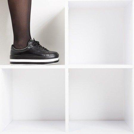 Чорні жіночі кросівки на платформі Ridicca - Взуття