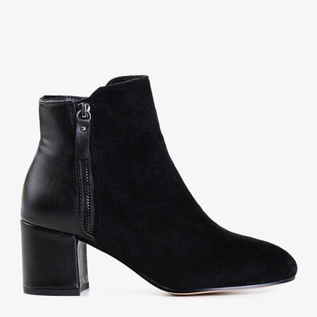 Чорні жіночі черевики на підборах Marlaja - Взуття