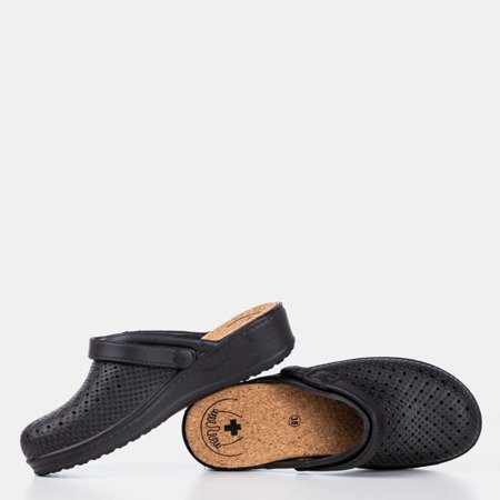 Чорні сабо Hortuški сабо - Взуття 1