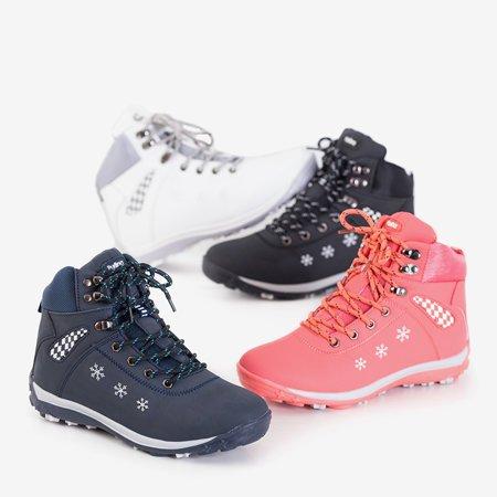 Жіночі білі зимові черевики зі сніжинками Sniesavo - Взуття