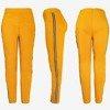 Коричневі жіночі кофти з смужками - Штани 1